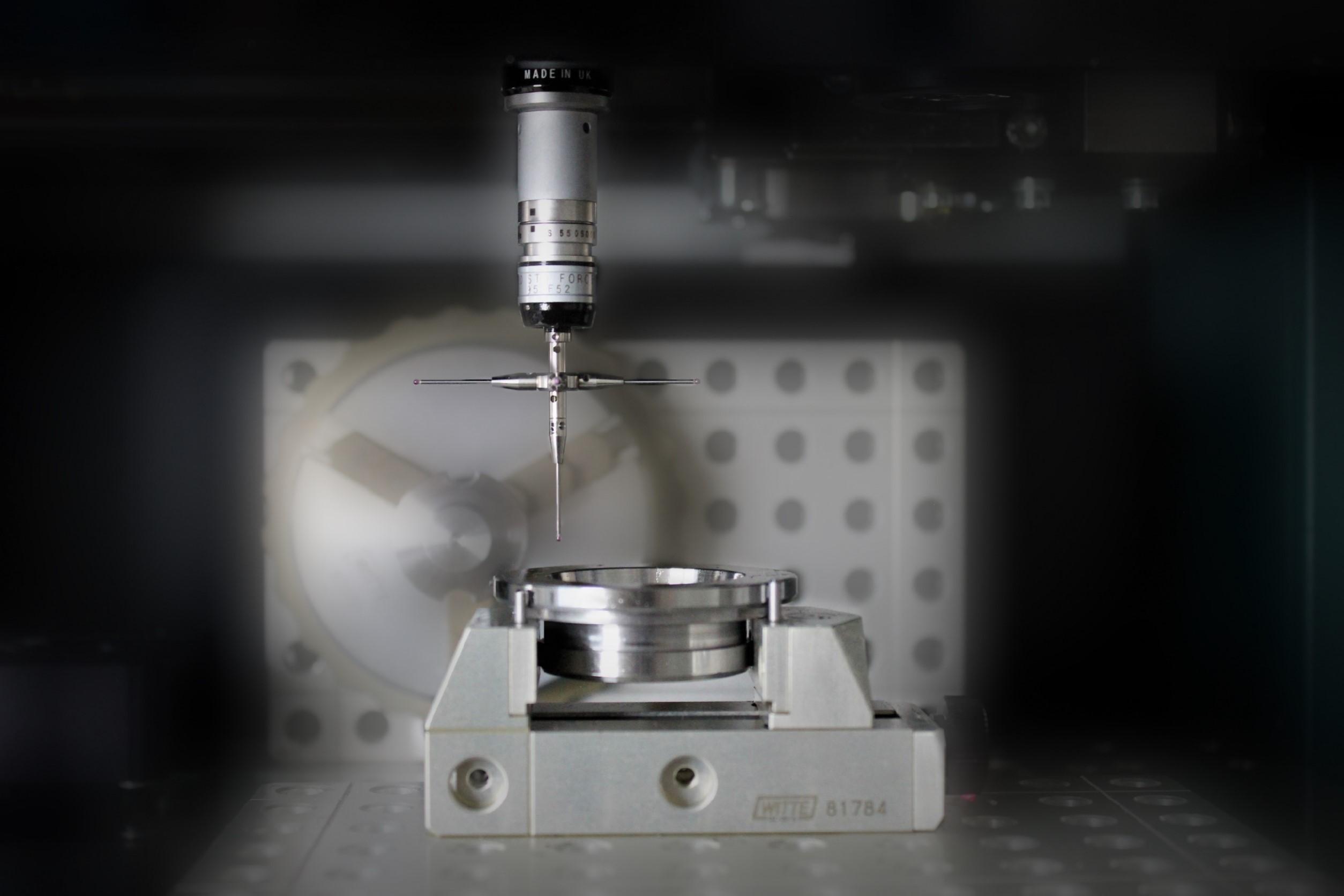 3D Messmaschine für Gewindeflansch, Überwurfmuttern, Gewinderinge, Stanzteile
